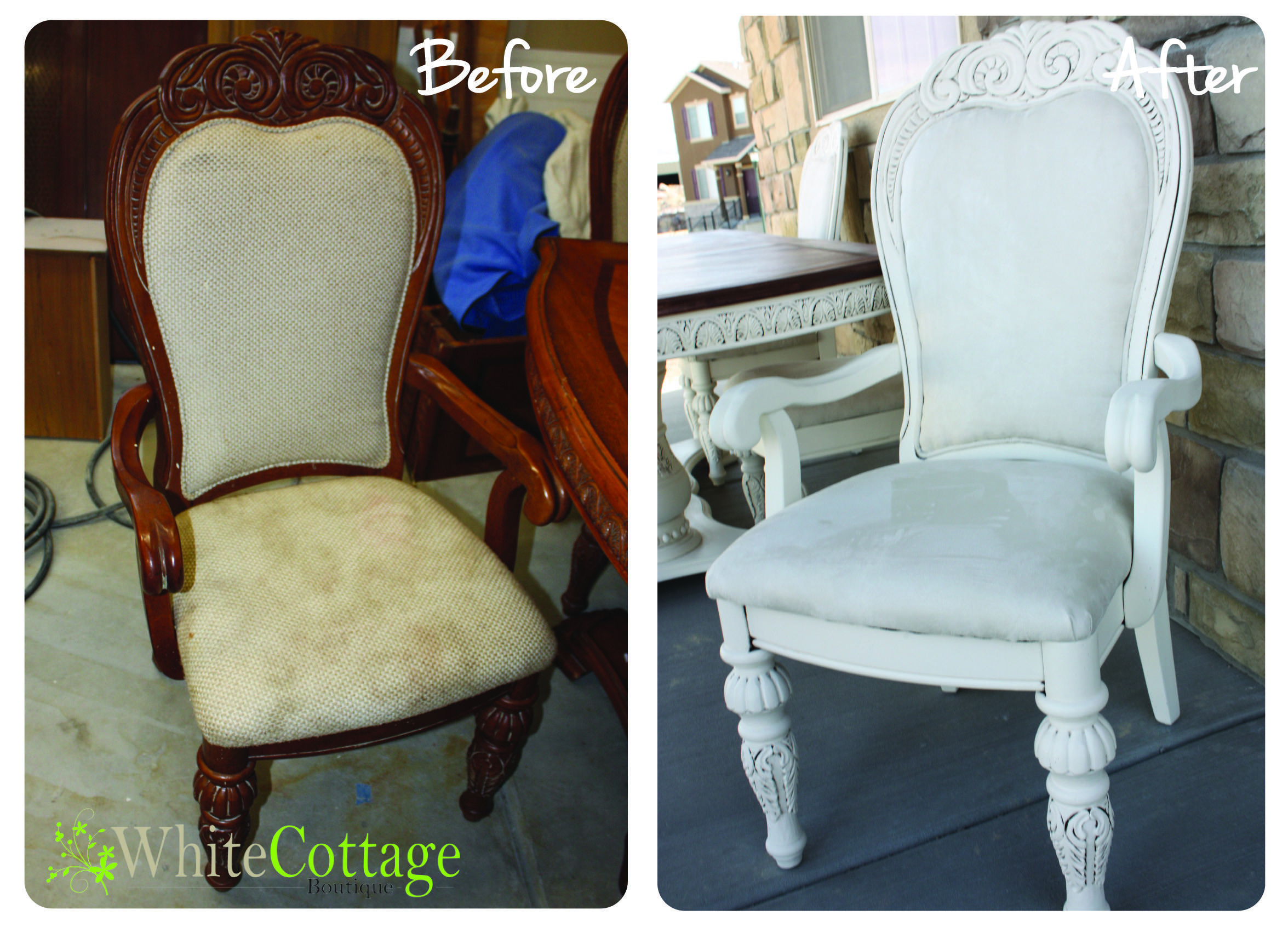 Room Decor Reupholster Dining Chair