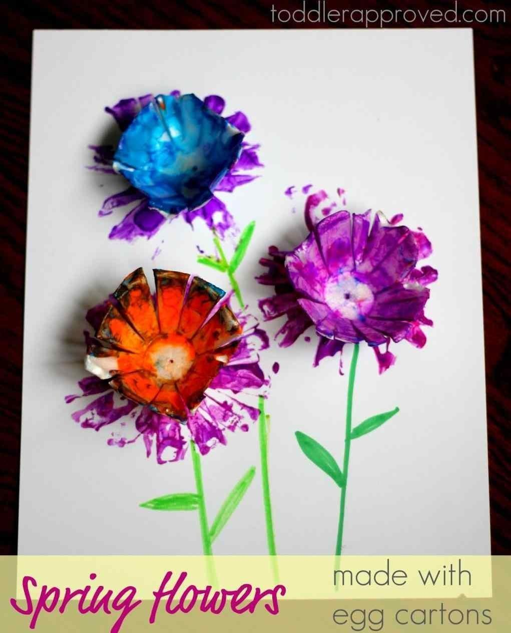 Room Lighting Easy Craft Ideas Spring Flower