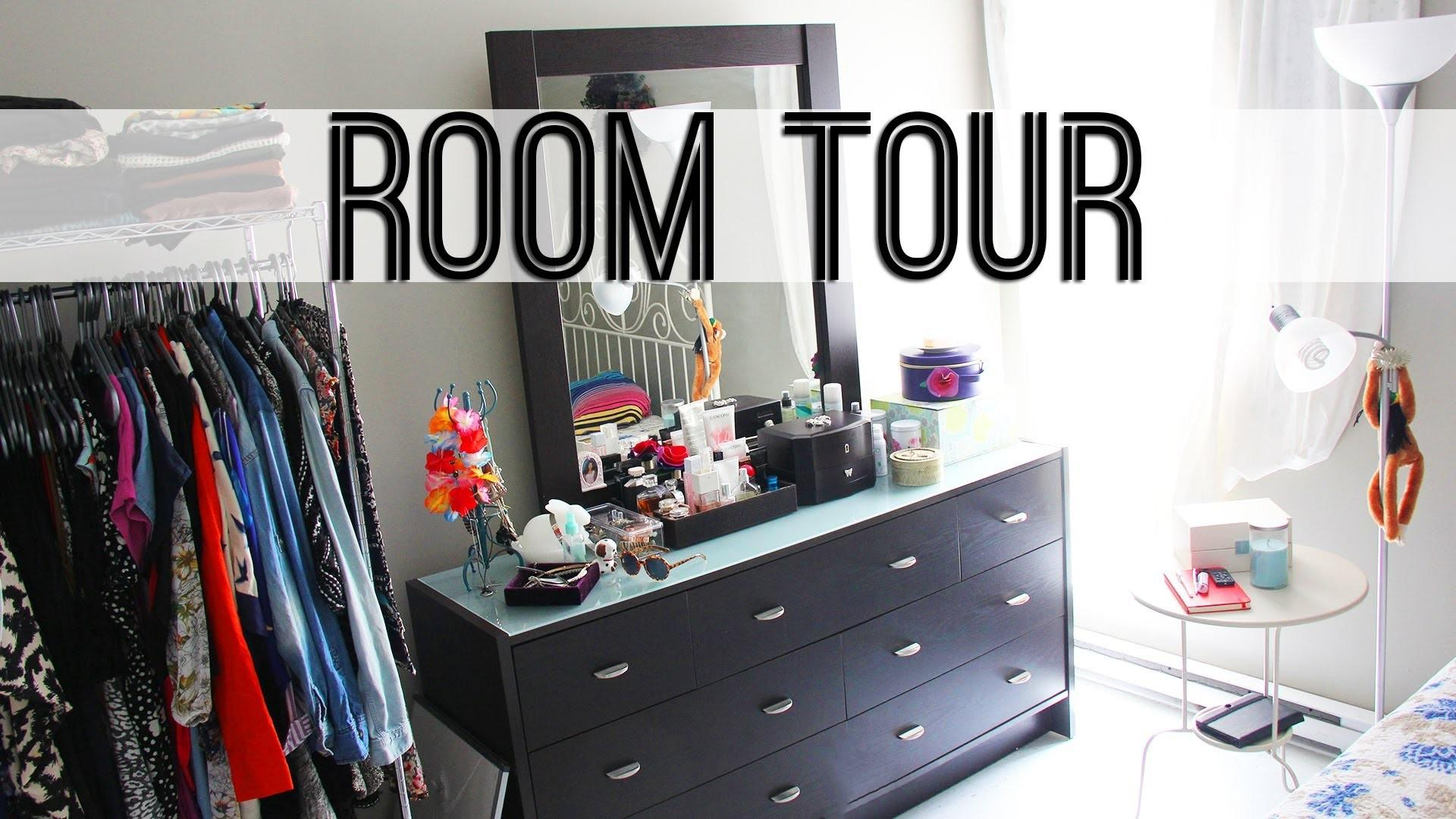 Room Tour Small Bedroom Storage Ideas Also Organizing