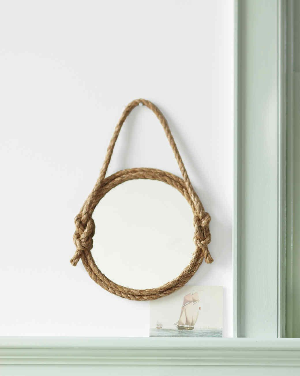Rope Mirror Video Martha Stewart