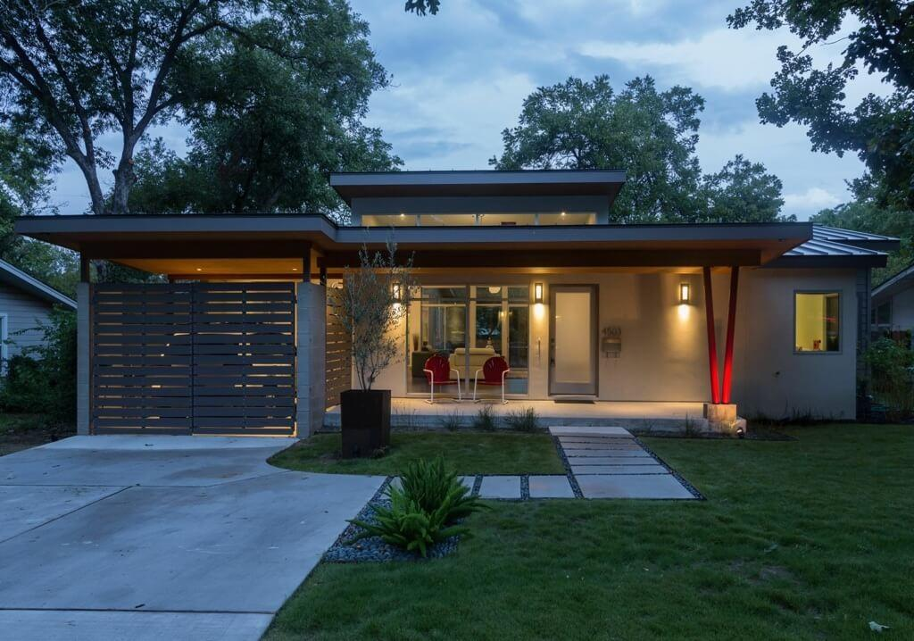 Rosedale Reimagined Austin Texas Modern Home Design