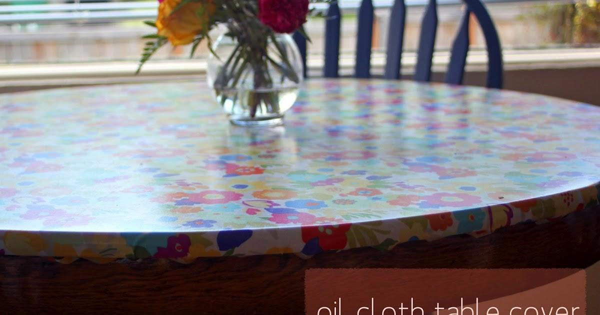Rouge Whimsy Diy Oil Cloth Table Cover