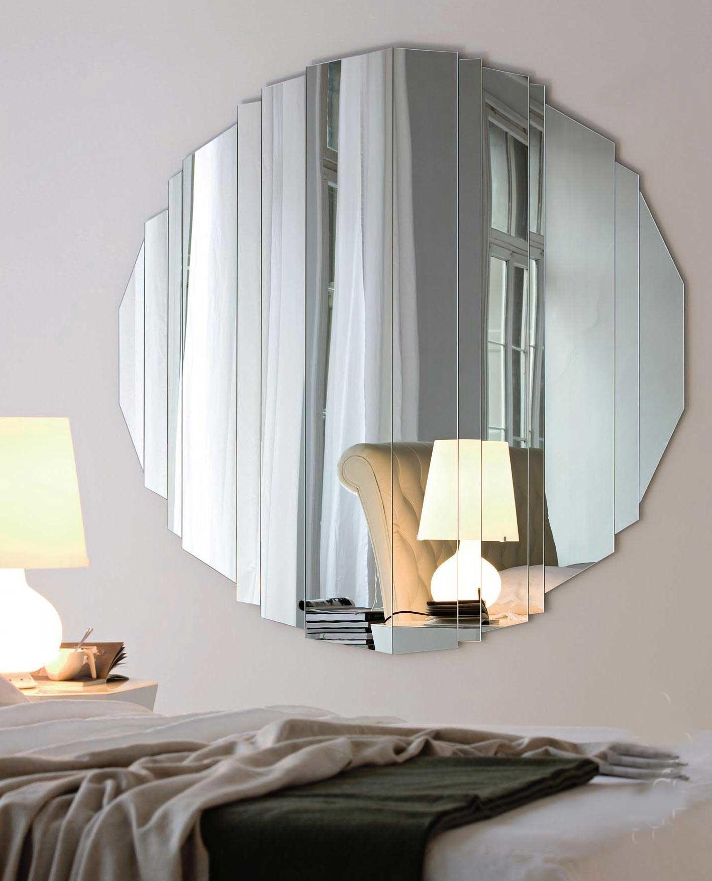 Round Bathroom Mirrors Mirror Shelves