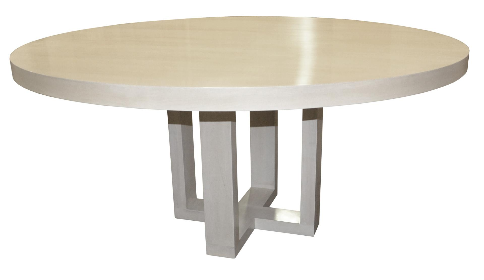 Round Contemporary Dining Table Dering Hall