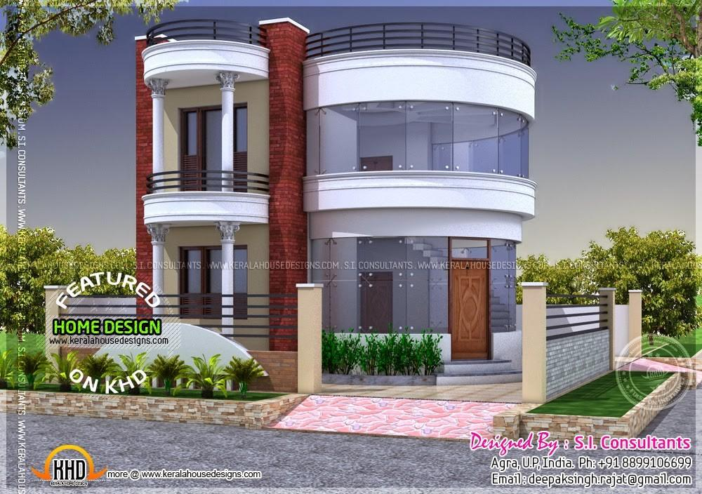 Round House Design Kerala Home Floor Plans