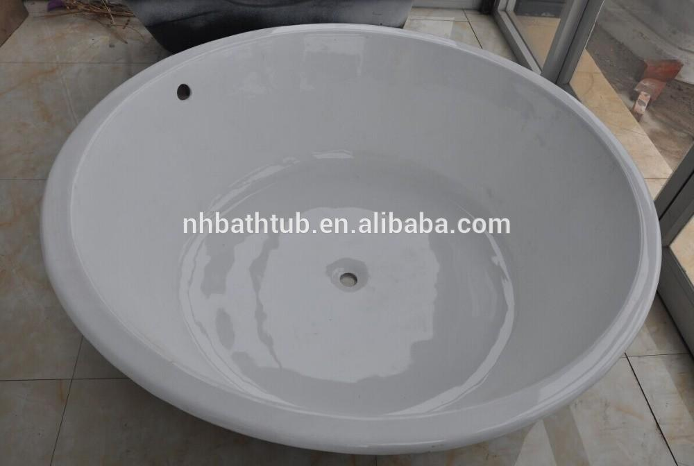 Round Iron Cast Bathtub Build Bath Tubs