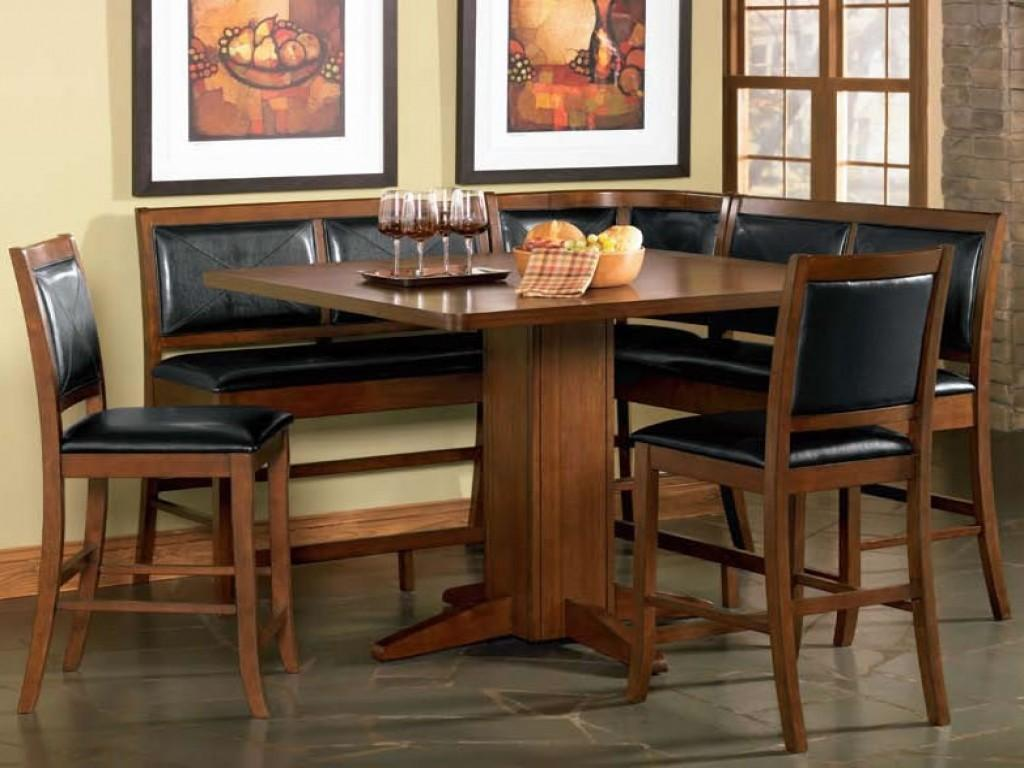 Round Kitchen Tables Chairs Sets Breakfast Corner