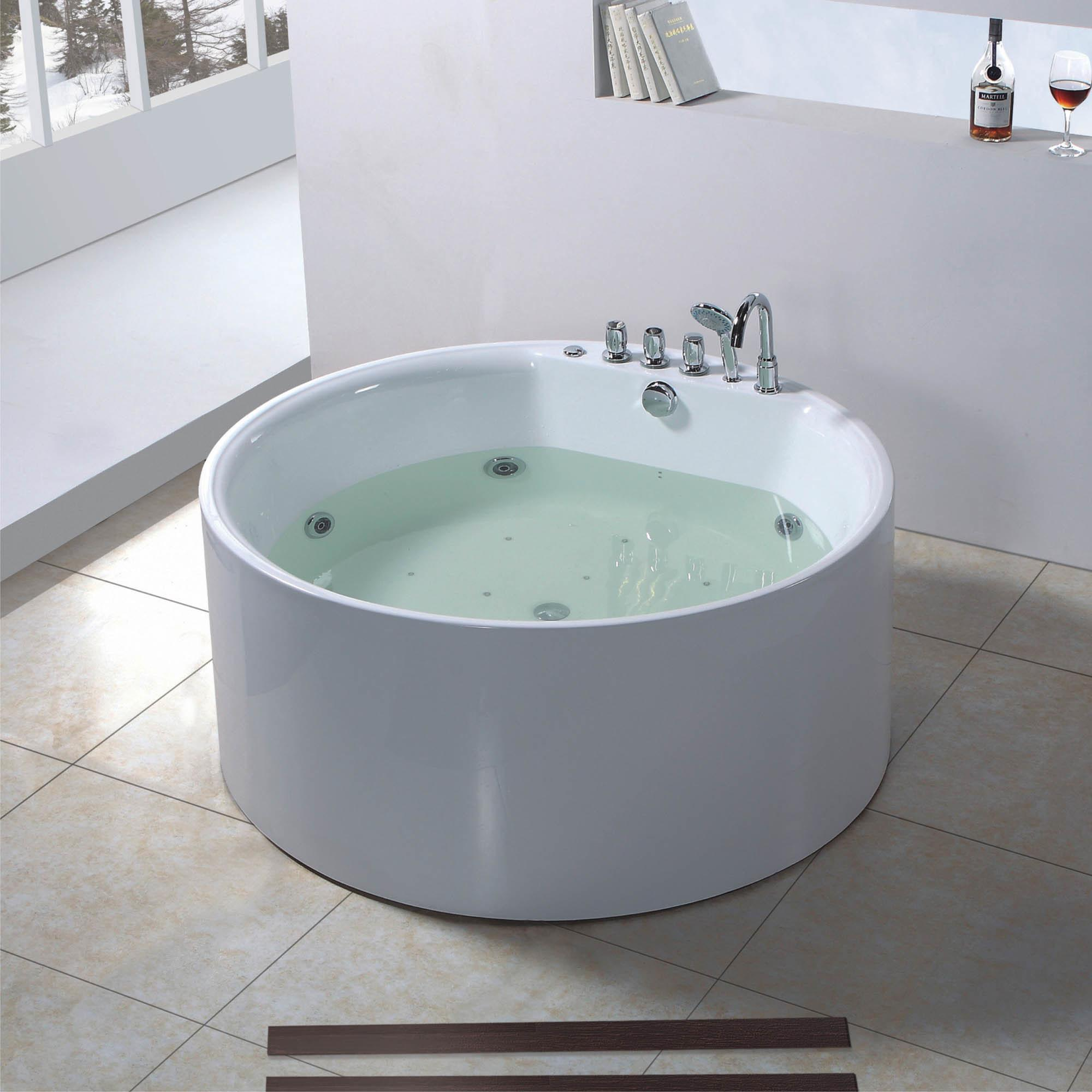 Round Shape Jacuzzi Bathtub 6627 Photos