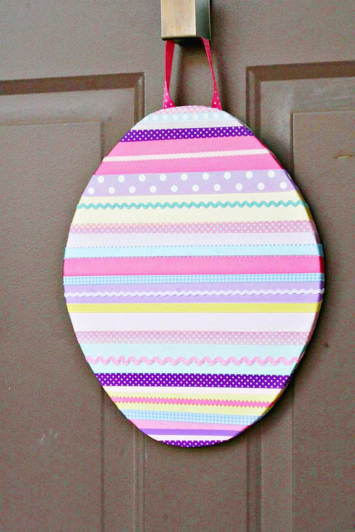 Round Your Ribbons Diy Easter Wall Art Evite
