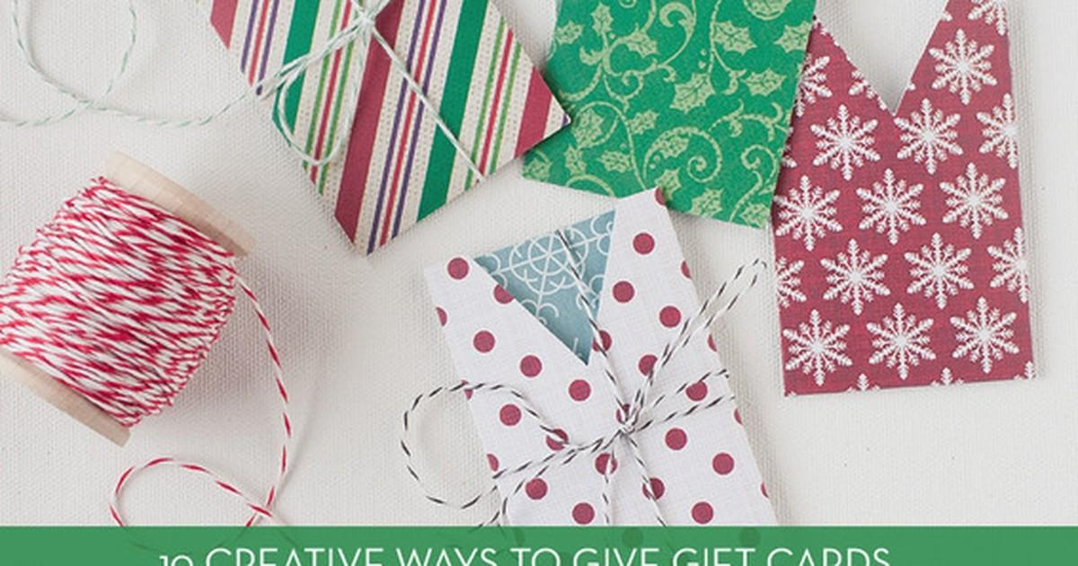 Roundup Creative Diy Gift Card Holders Curbly
