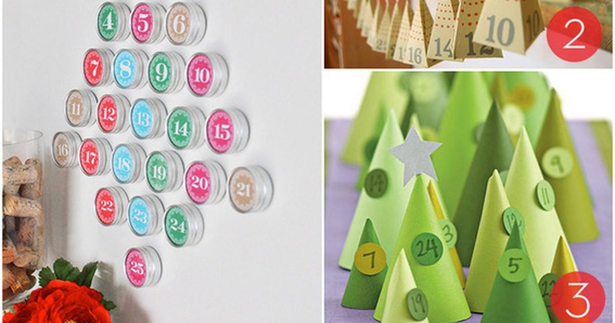 Roundup Diy Advent Calendar Holiday Countdown