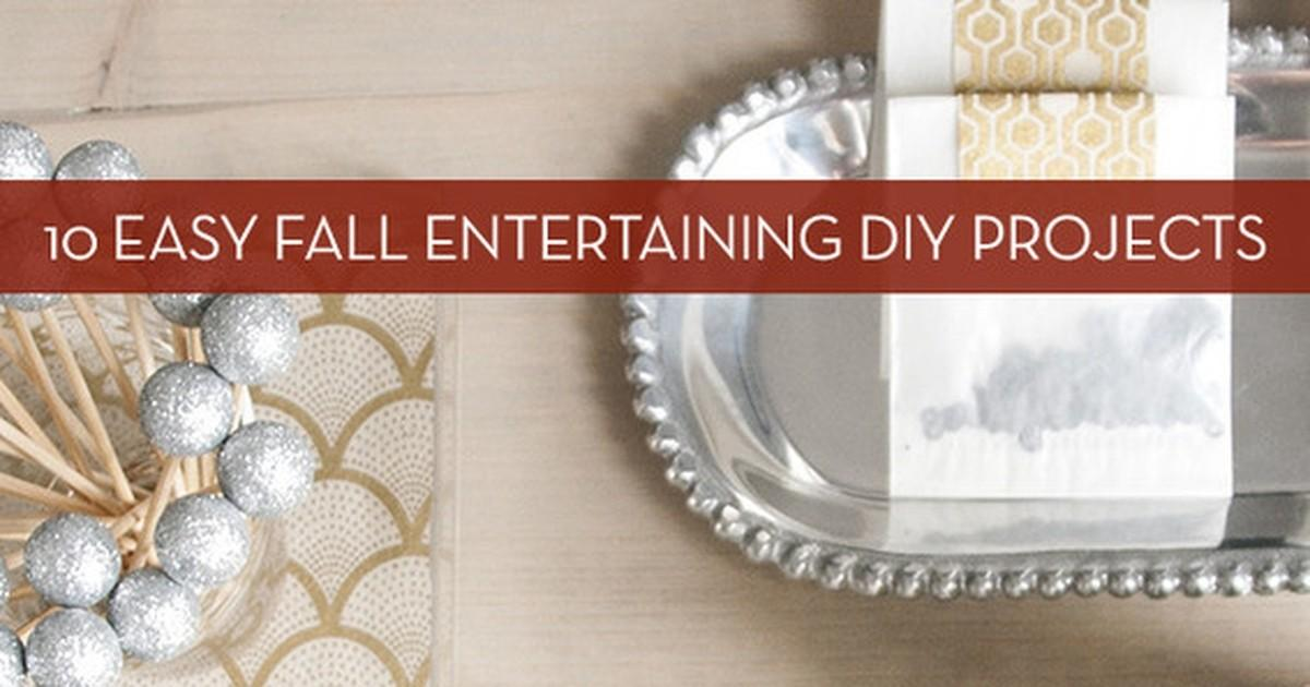 Roundup Easy Fall Entertaining Diy Projects Curbly