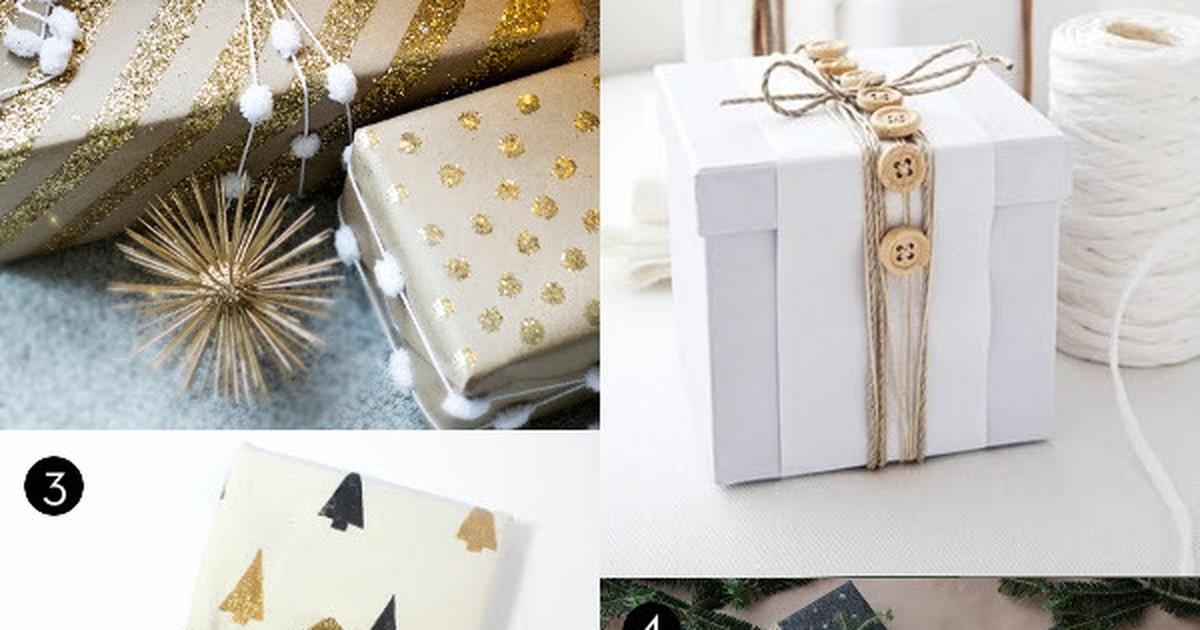 Roundup Stylish Budget Friendly Holiday Gift Wrap