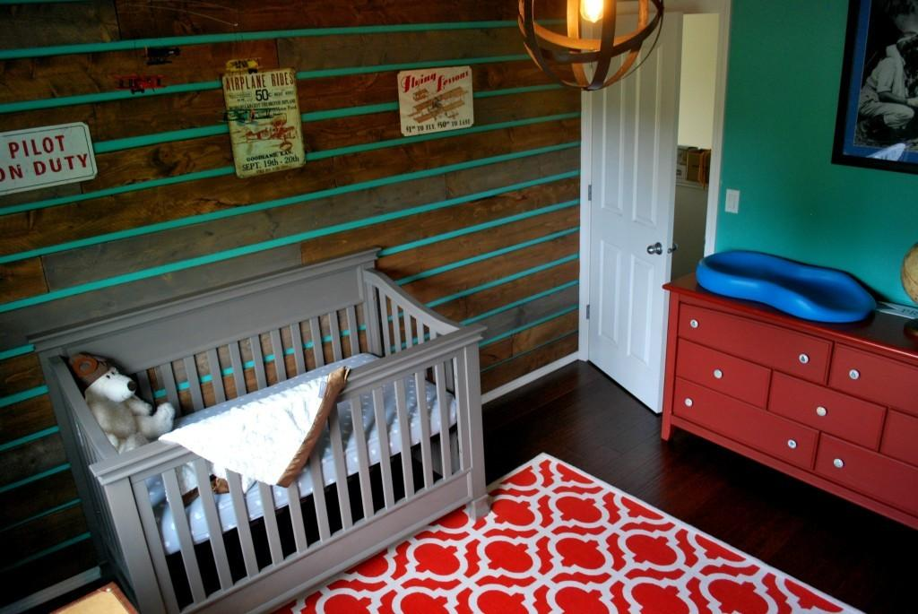 Roundup Wood Accent Walls Project Nursery