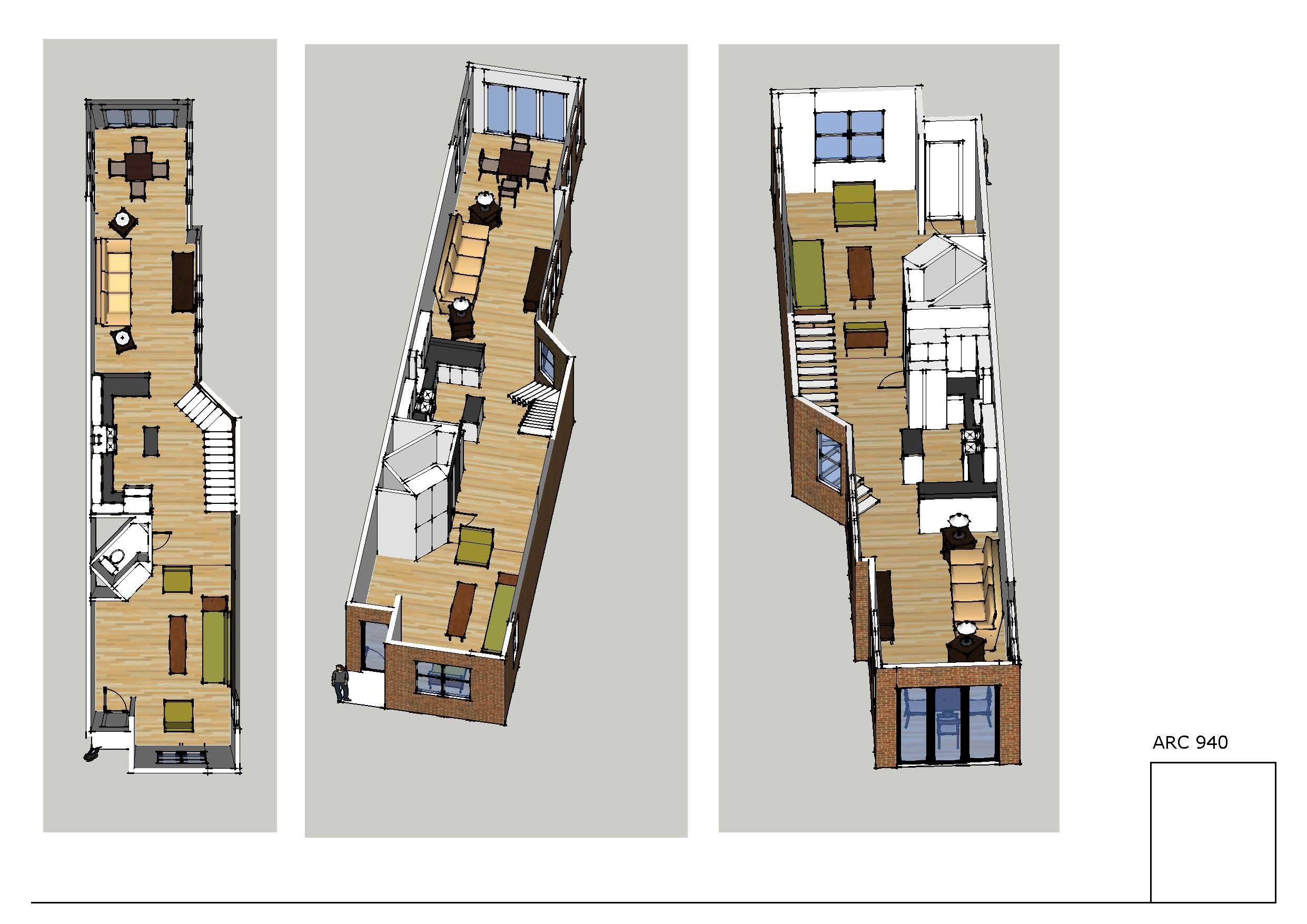 Row House Floor Plans Washington Escortsea