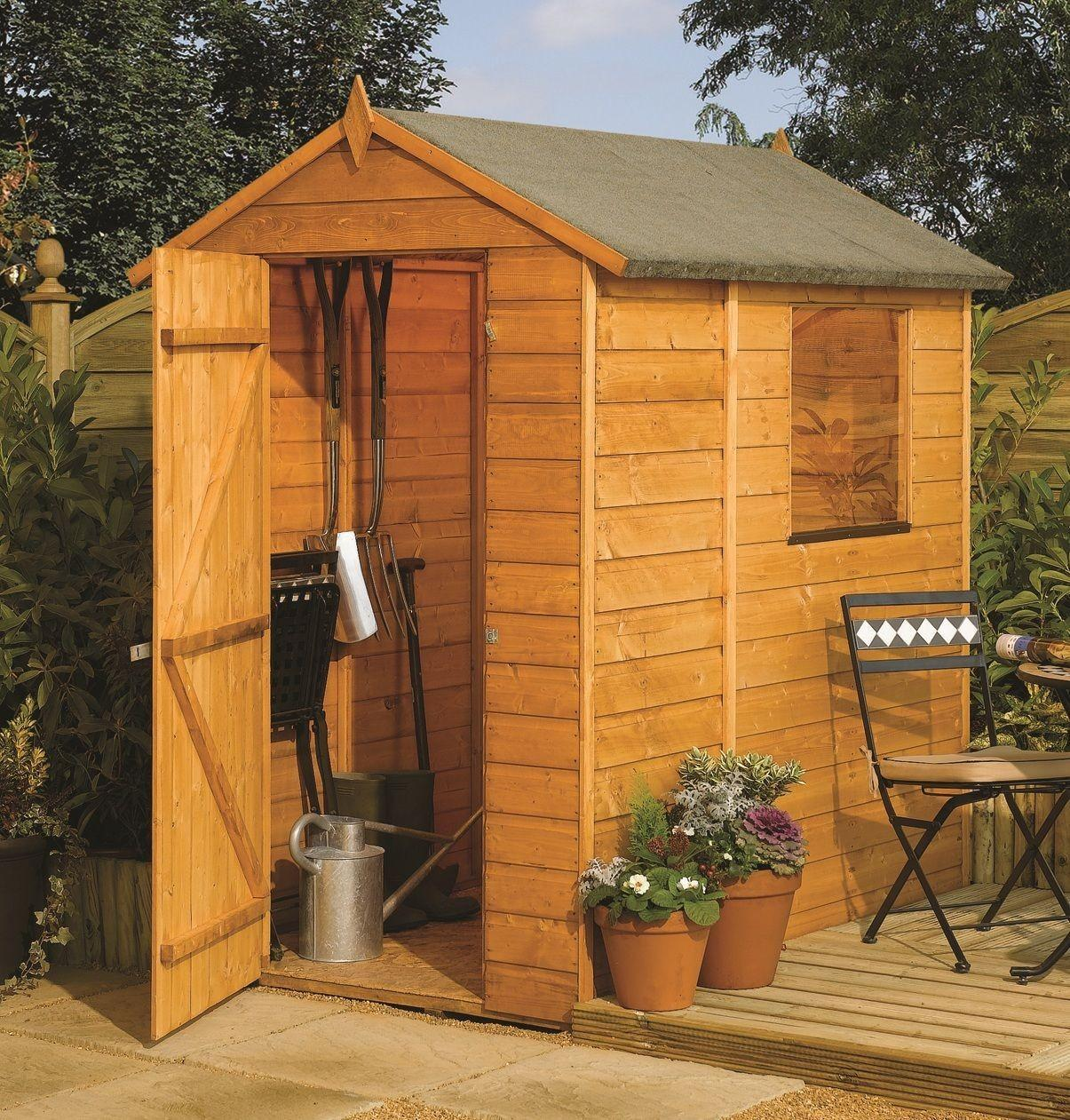 Rowlinson Apex Garden Shed Built Using 12mm