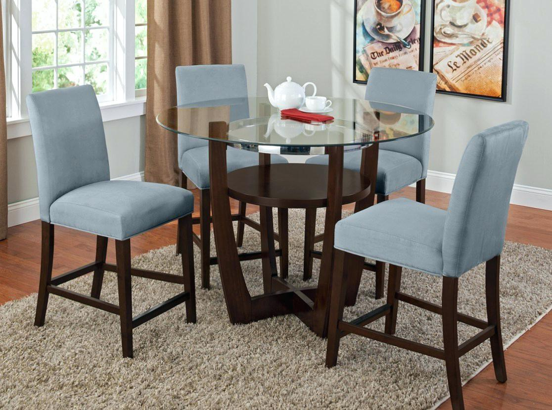 Royal Blue Dining Chairs Awesome Room Set Dark