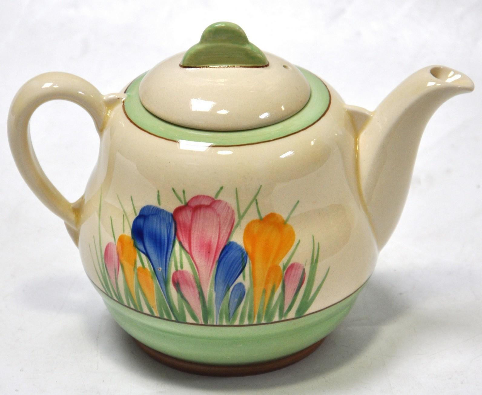 Royal Staffordshire Clarice Cliff Spring Crocus
