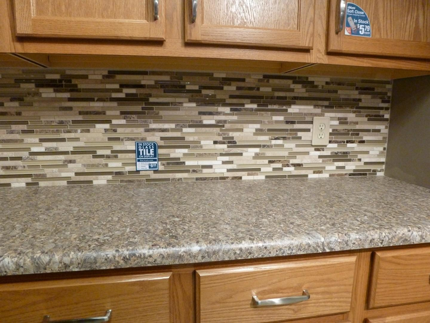 Rsmacal Square Tiles Light Effect Kitchen