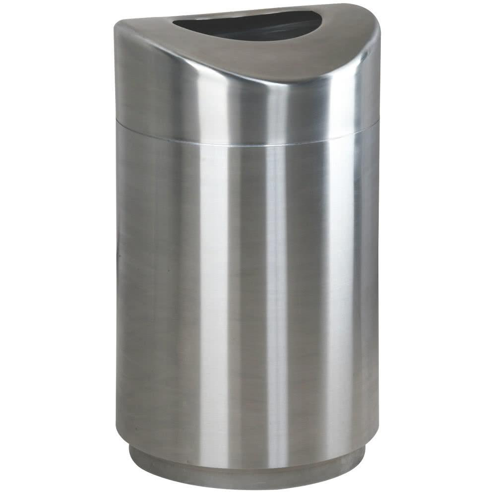 Rubbermaid Fgr2030sspl Eclipse Round Open Top Stainless