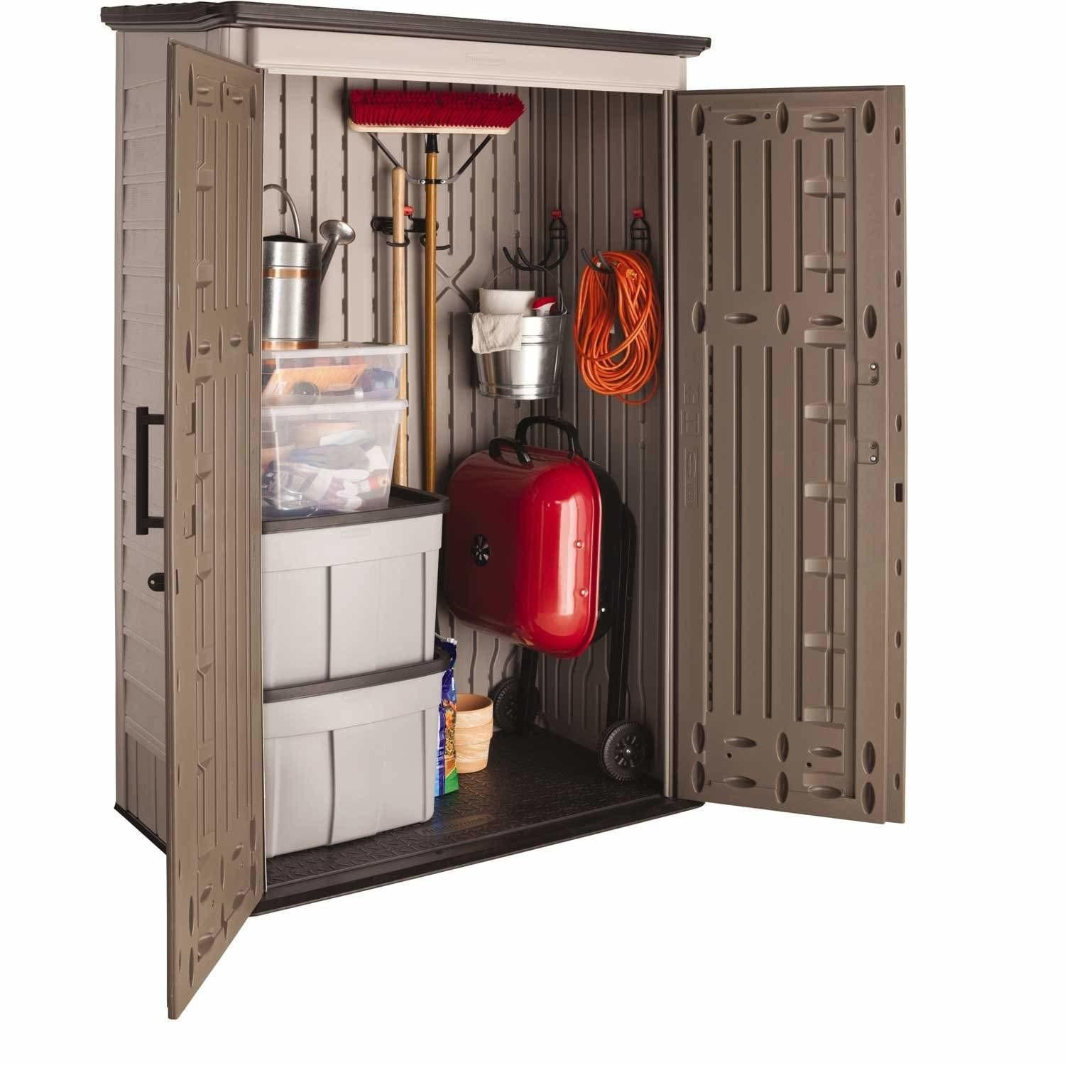 Rubbermaid Vertical Outdoor Storage Shed All
