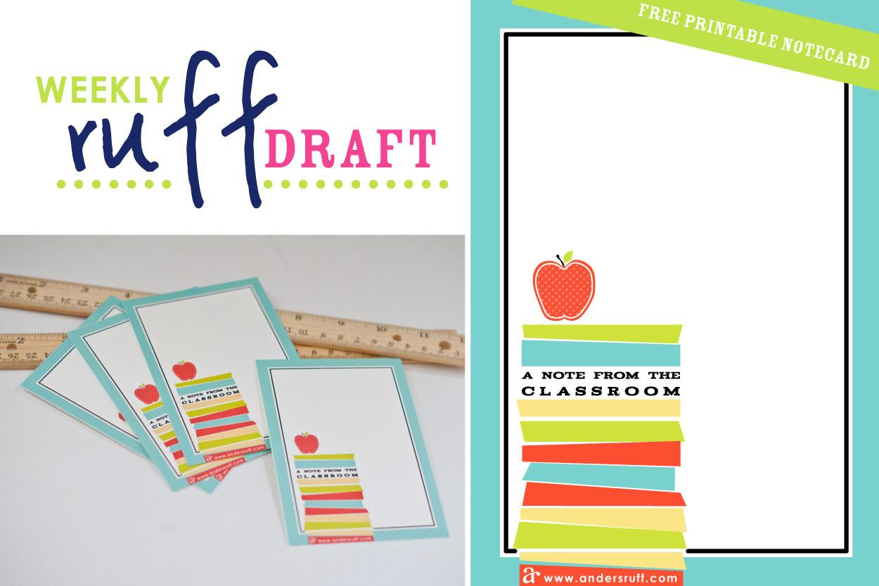 Ruff Draft Craft Labels Organizing Your Office