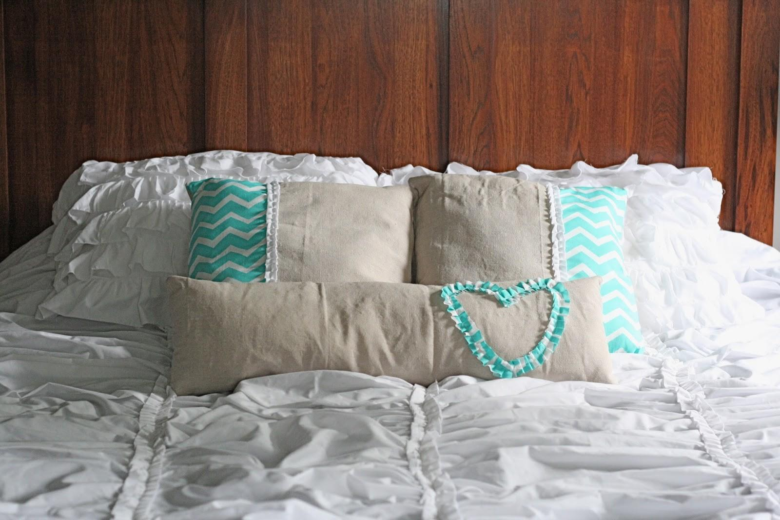 Ruffled Stitch Diy Decorative Pillows
