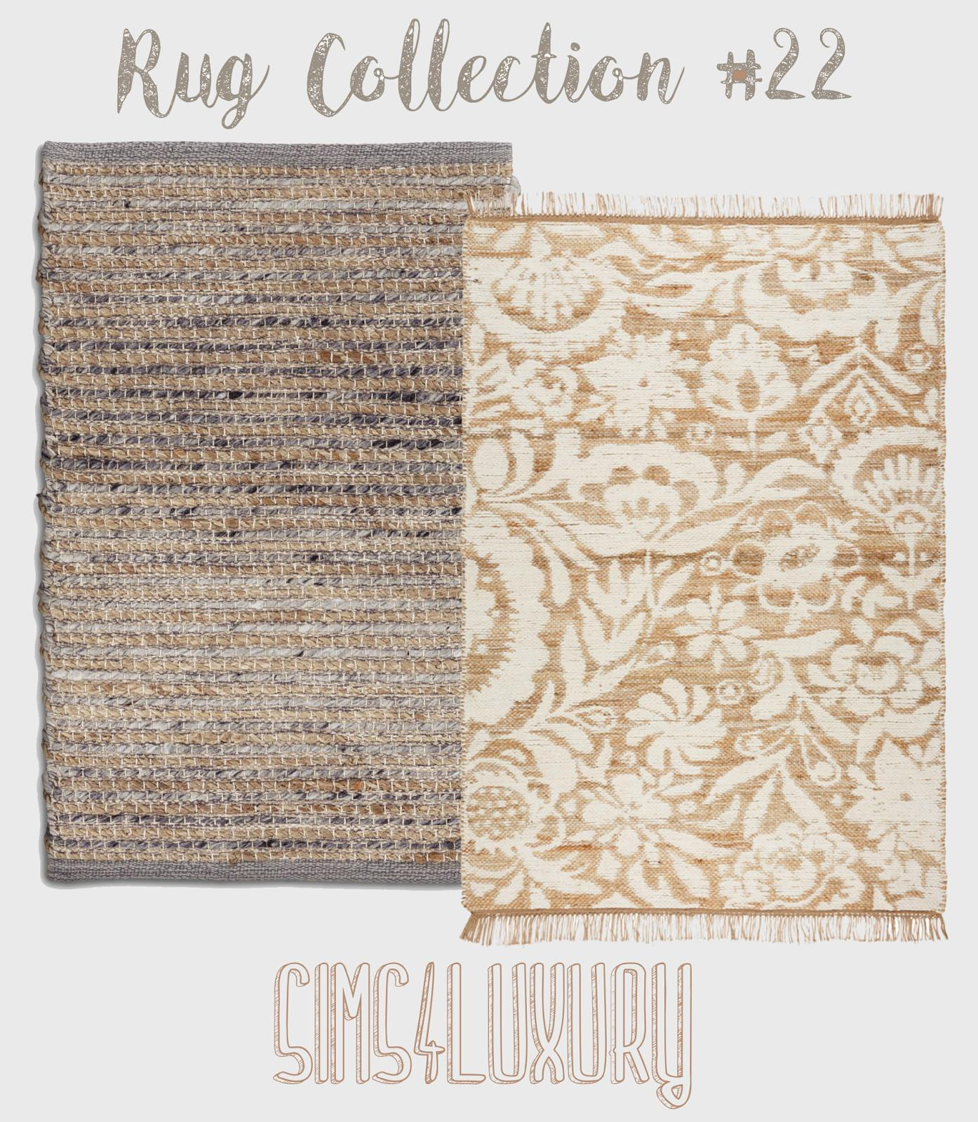 Rug Collection Sims4luxury