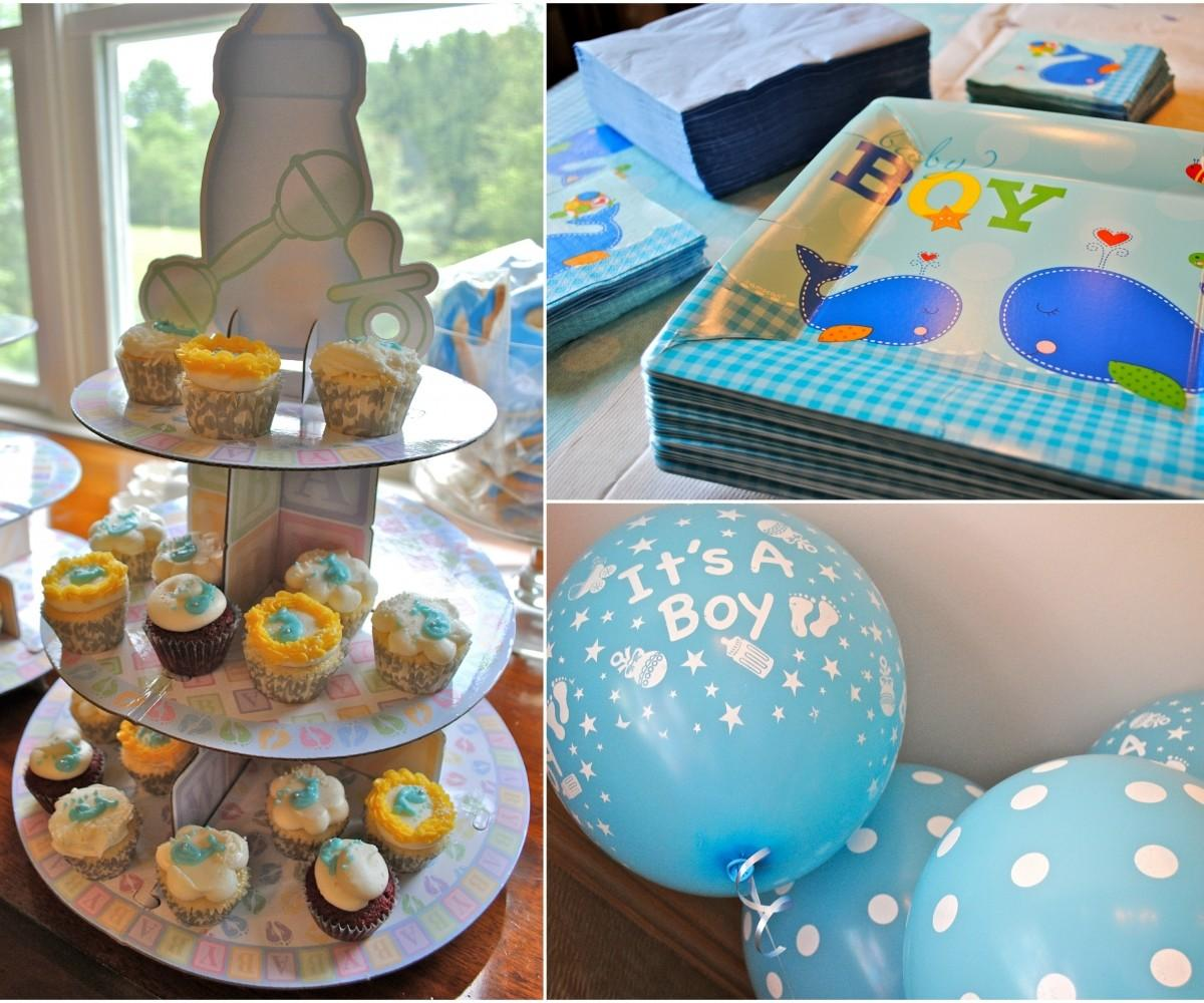 Rummy Easy Make Baby Shower Centerpieces