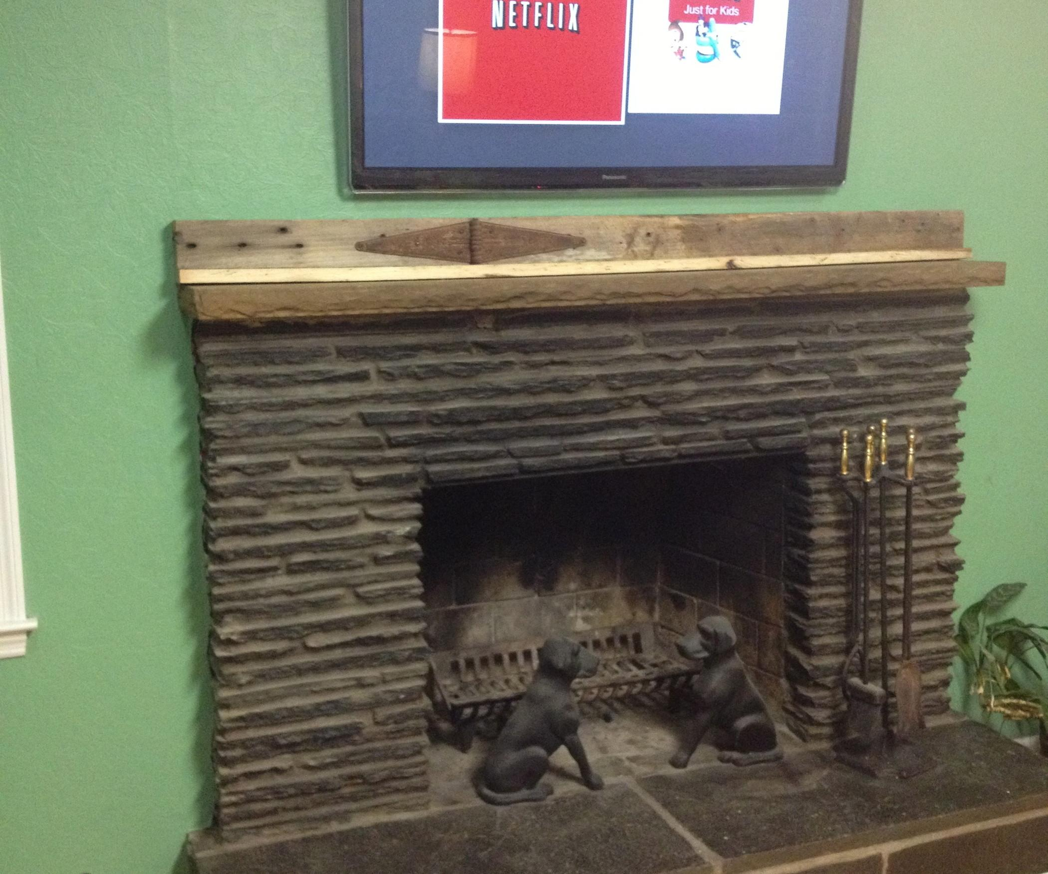 Run Cables Above Fireplace