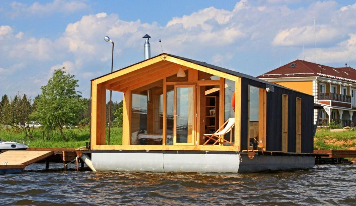 Russian Pre Fab Company Takes Water Tiny House Works
