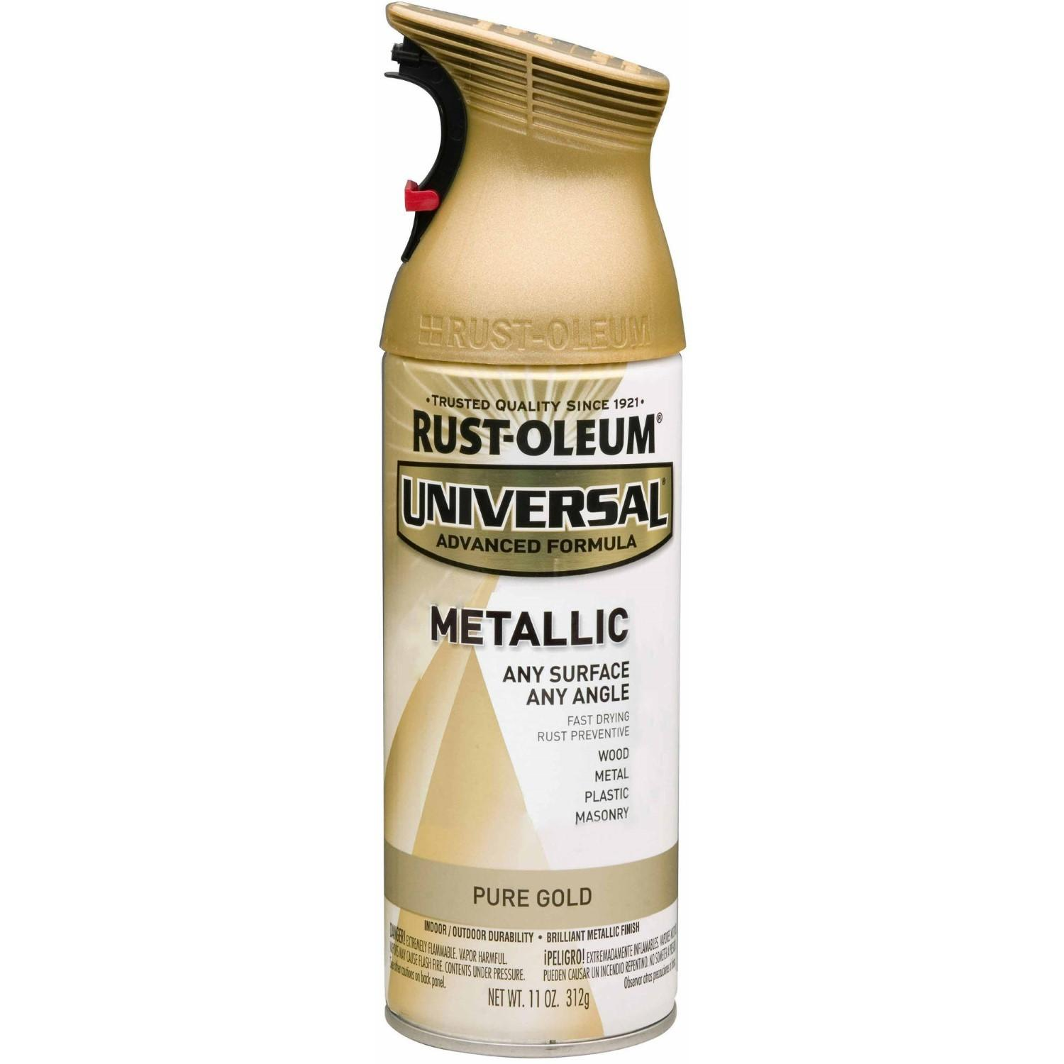 Rust Oleum Universal All Surface Metallic Pure Gold Spray