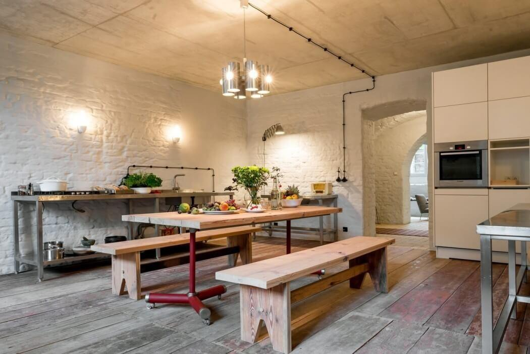 Rustic Apartment Berlin Shows Its Mediterranean Roots