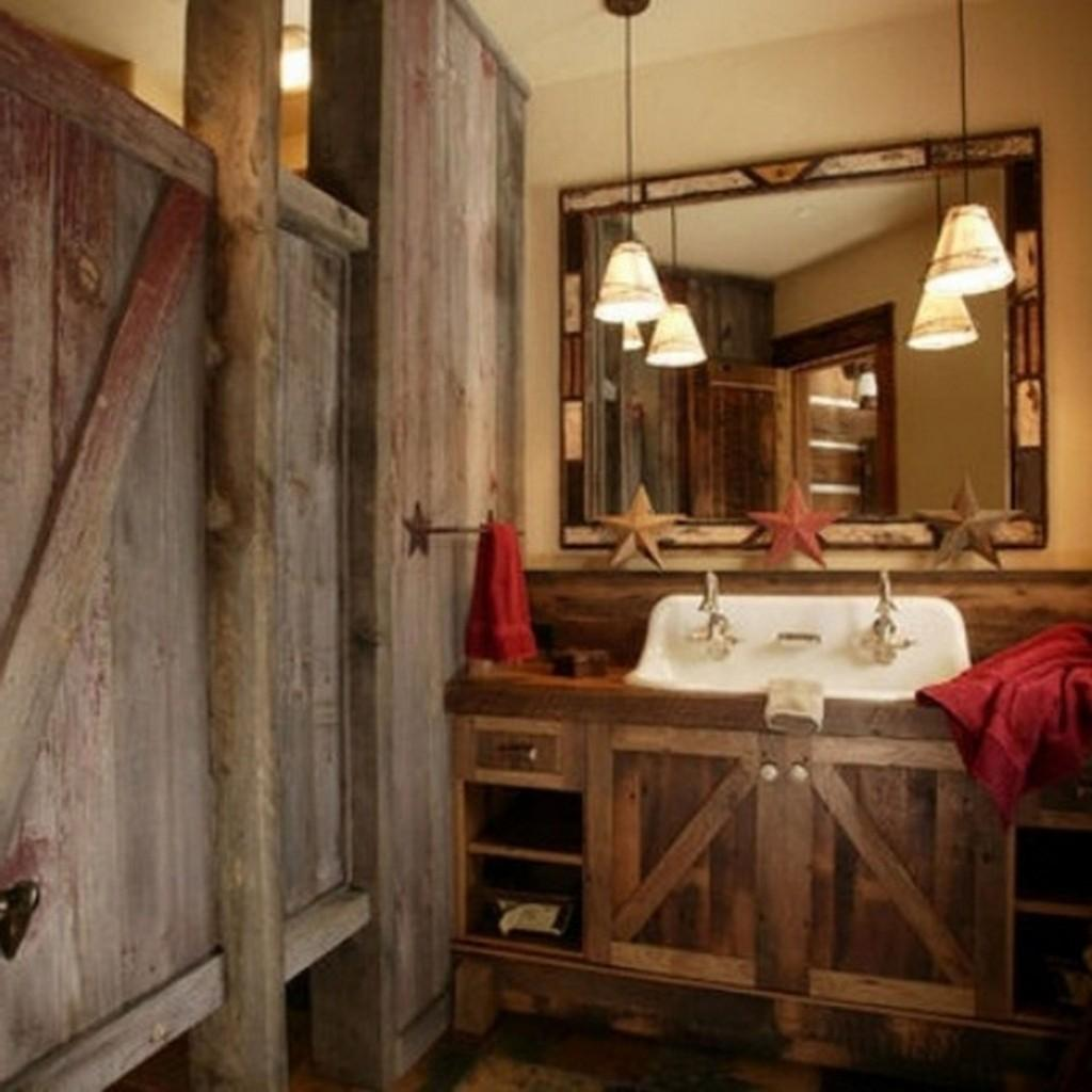 Rustic Bathroom Ideas Bathrooms Ceesquare