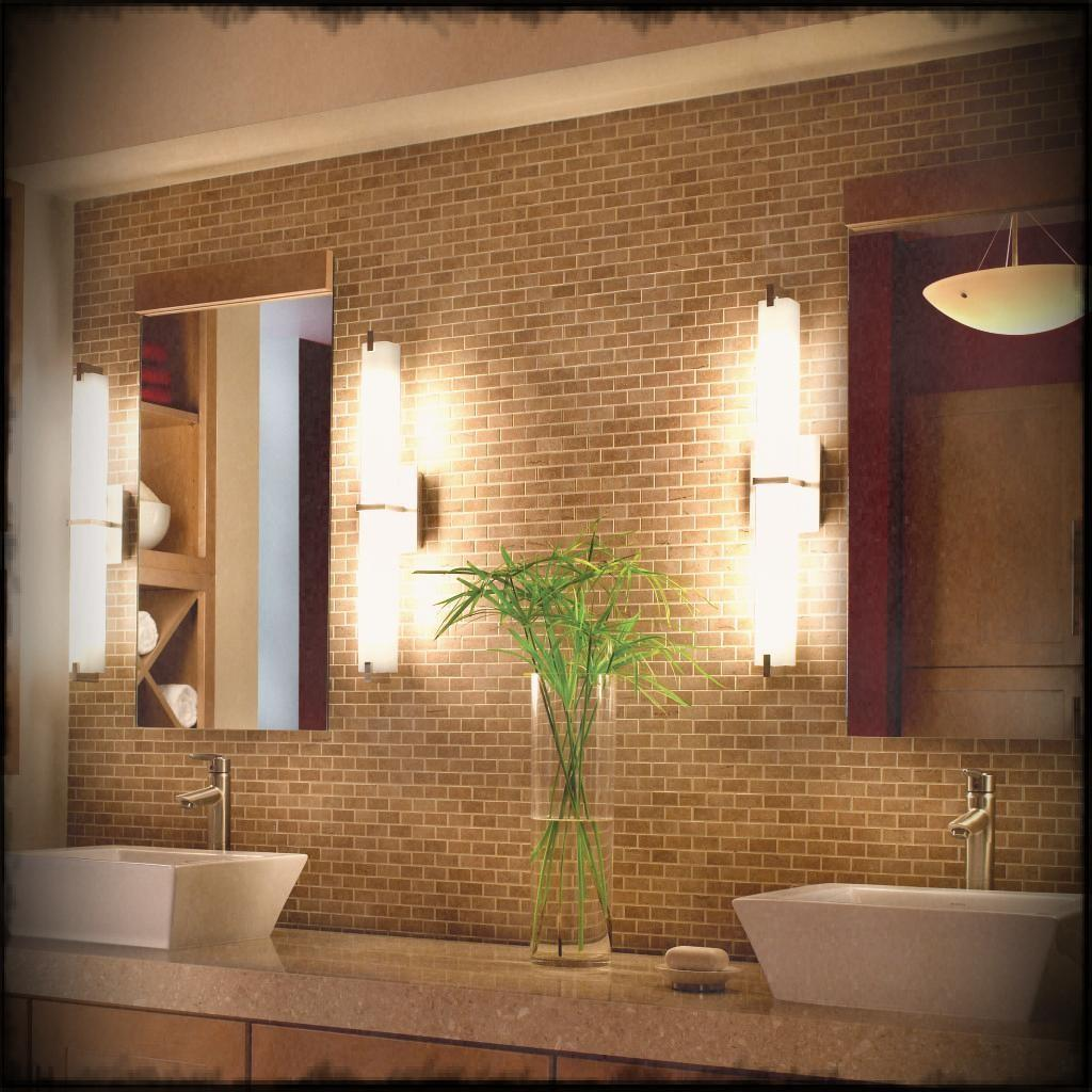 Rustic Bathroom Ideas Vase House Plants Wall