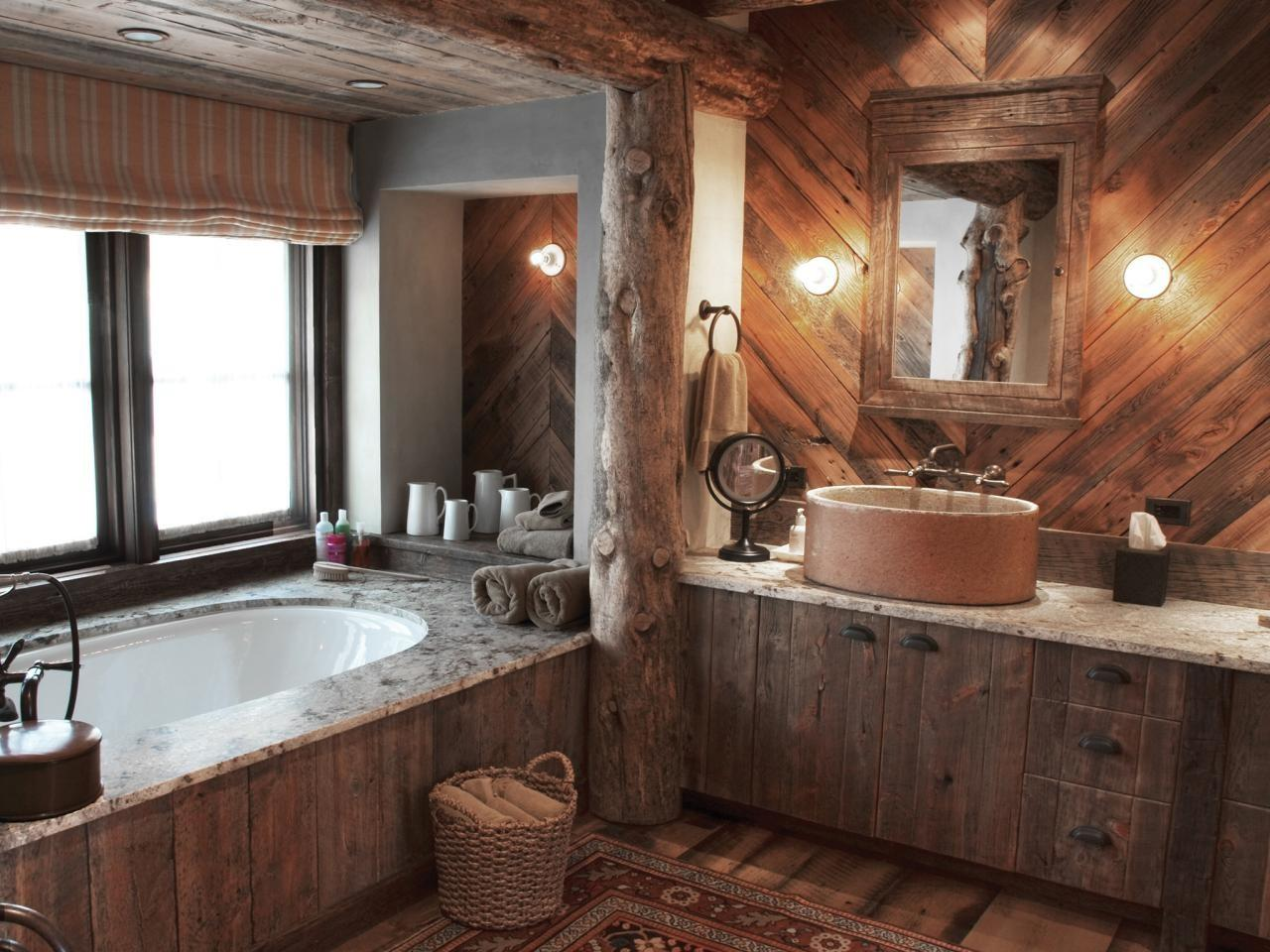 Rustic Bathroom Photos