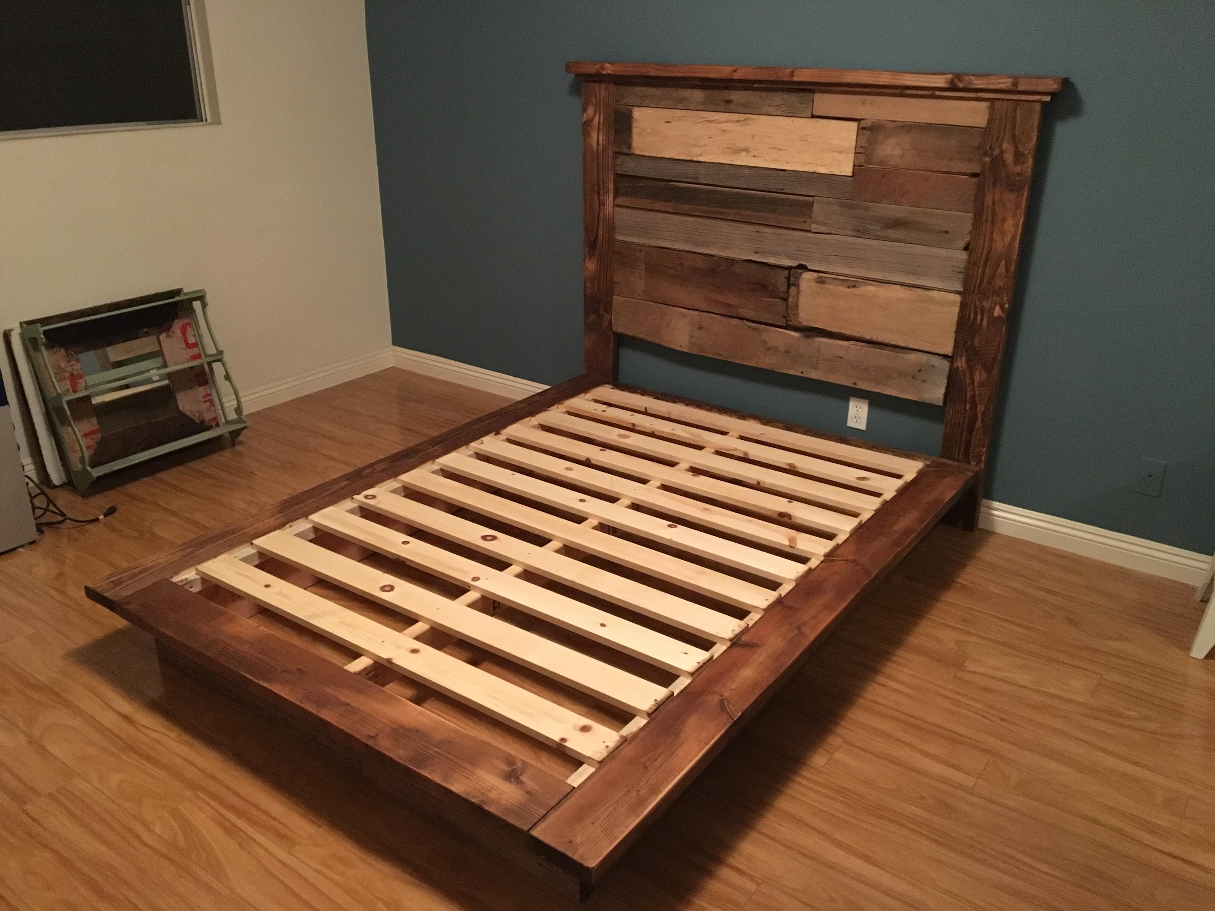 Rustic Bed Frame Luis Quince Best King
