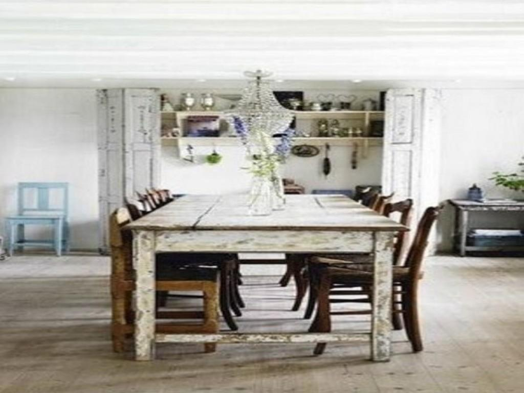Rustic Bedroom Decor Distressed Dining Tables Shabby Chic