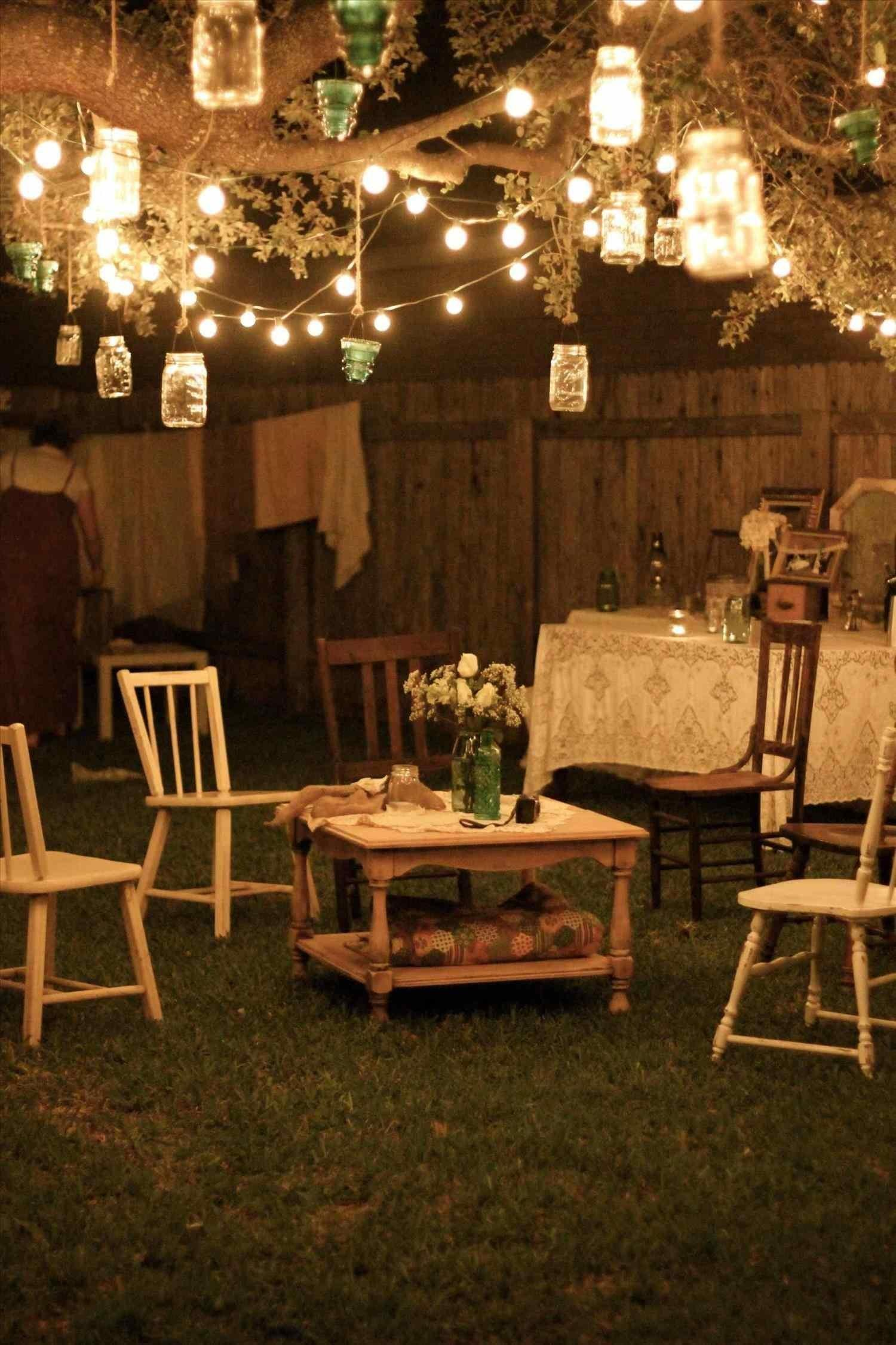 Rustic Chic Party Decor Reminded Country