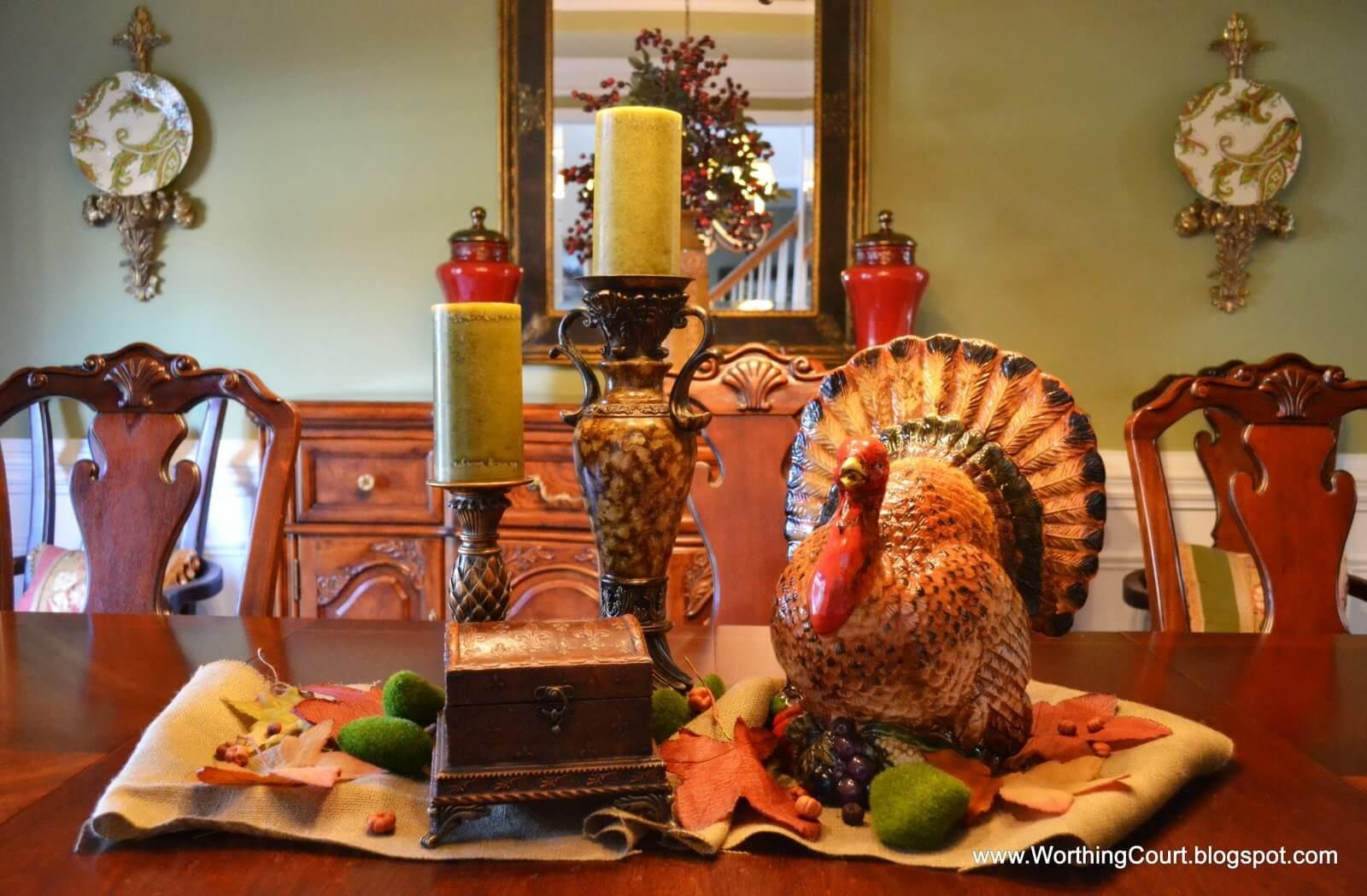 Rustic Chic Thanksgiving Decorations Ideas