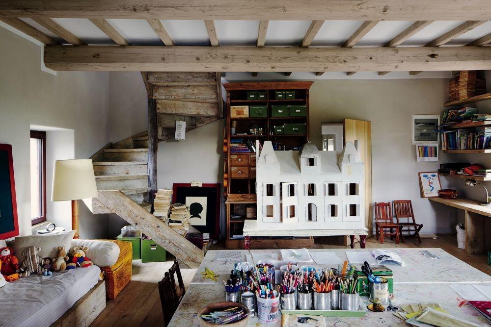 Rustic Children Room Benedikt Bolza Architectural