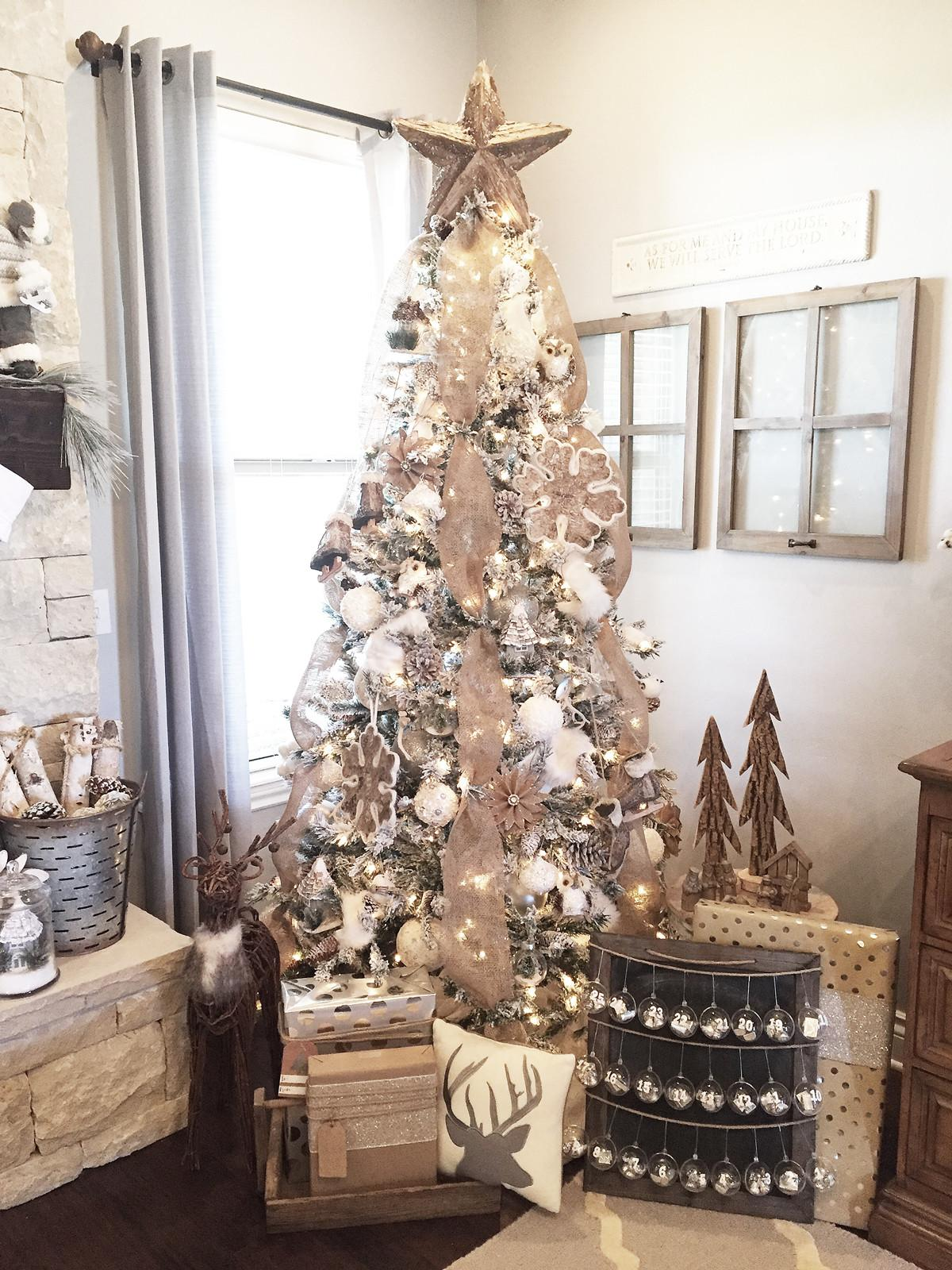 Rustic Christmas Mantel Decor Ideas