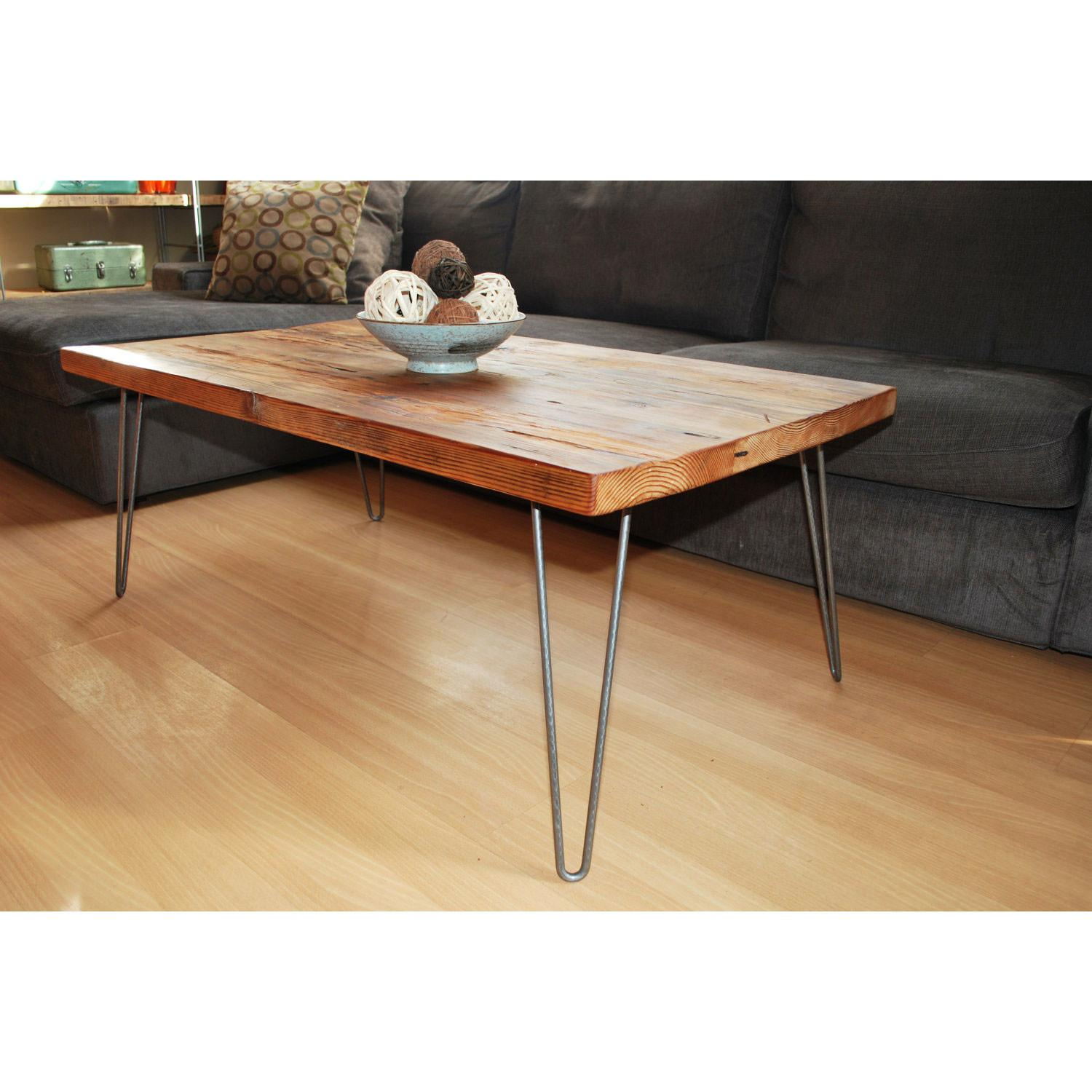 Rustic Coffee Table Plans Good Back Square