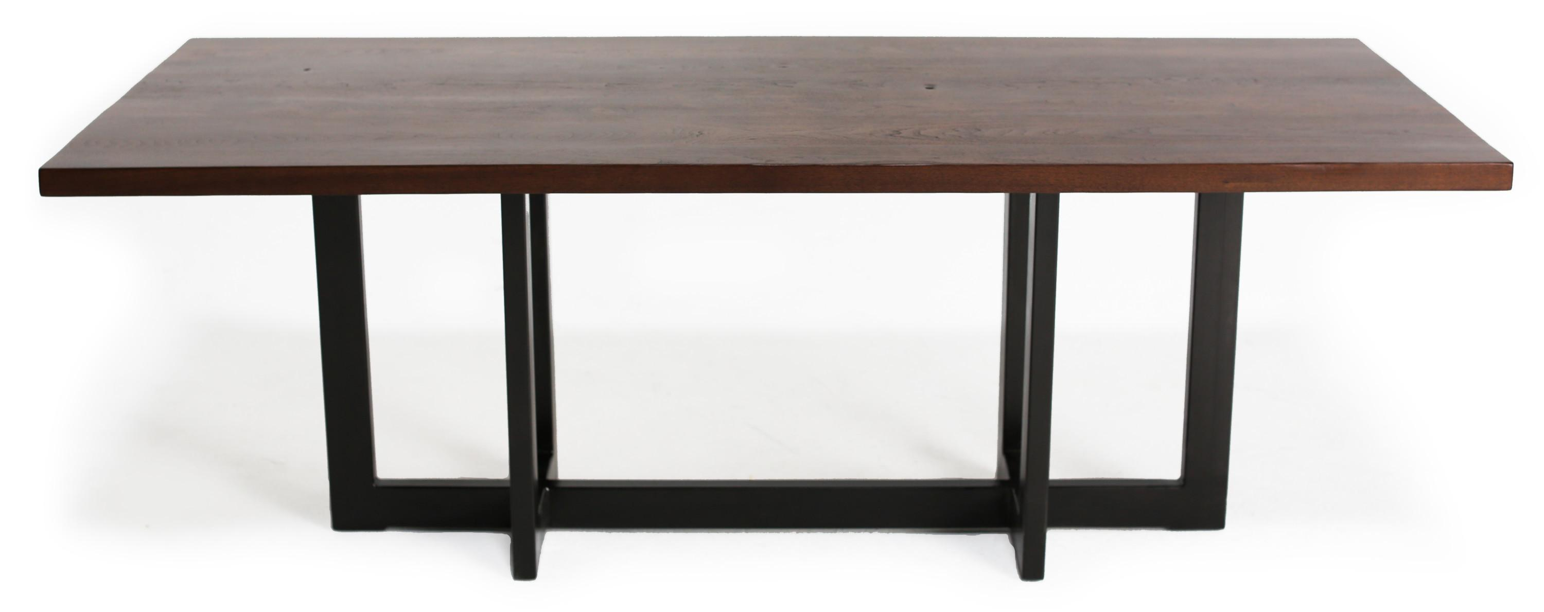 Rustic Conference Table Braylon Modern