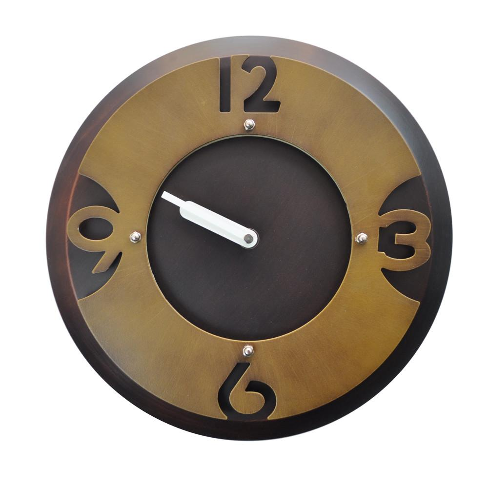 Rustic Contemporary Freestanding Wall Clocks