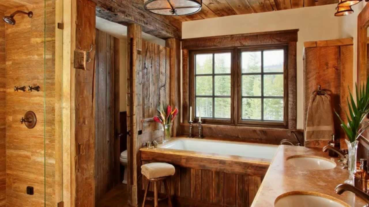 Rustic Country Style Interior Design Ideas