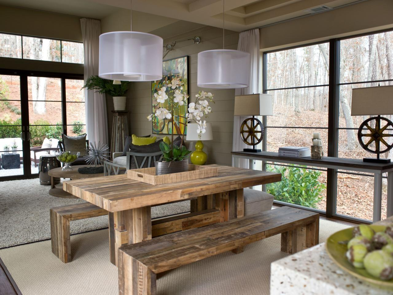 Rustic Dining Room Photos