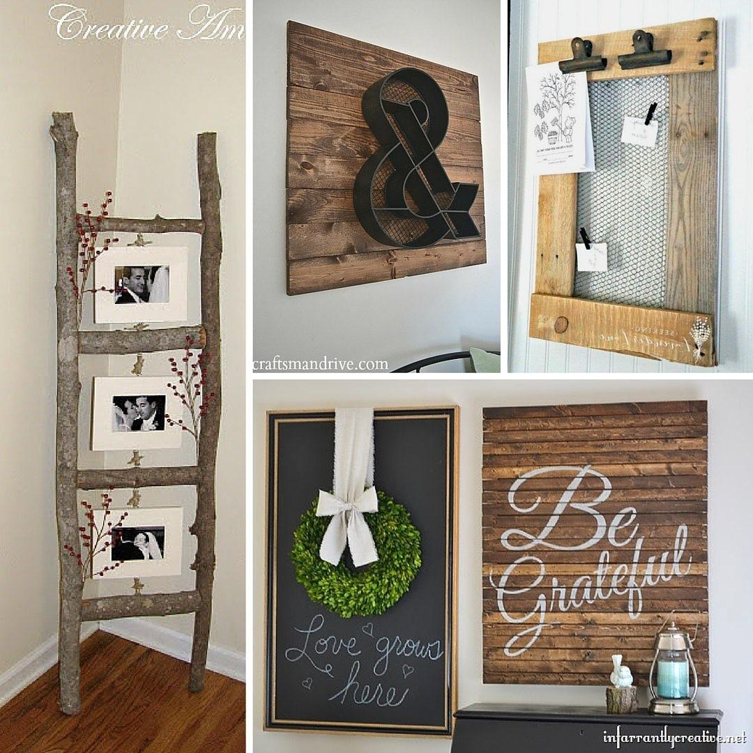 Rustic Diy Home Decor Projects Refresh Restyle