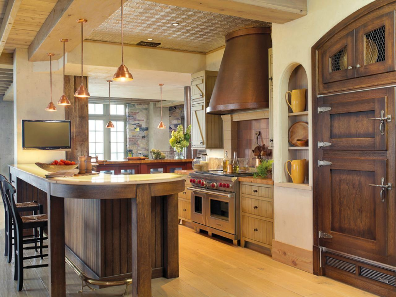 Rustic Elegance Kitchen Designs Choose