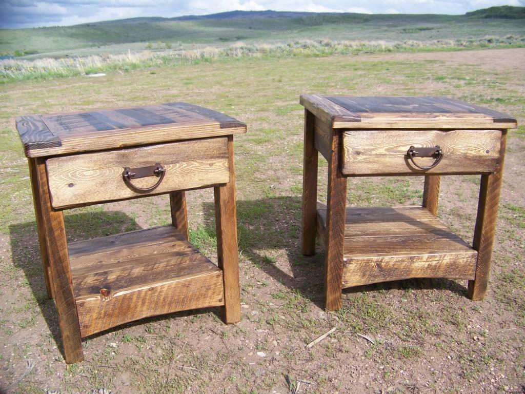 Rustic End Table Ideas Coffee Design